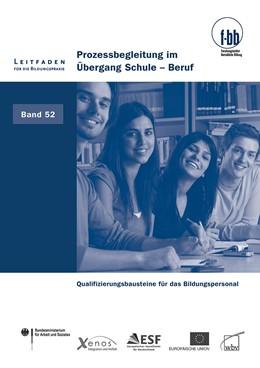 Abbildung von Loebe / Severing   Prozessbegleitung im Übergang Schule - Beruf   2012   Qualifizierungsbausteine für d...   52