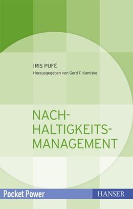 Abbildung von Pufé / Kamiske | Nachhaltigkeitsmanagement | 2012