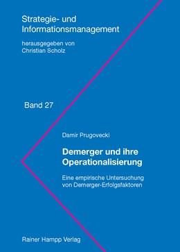Abbildung von Prugovecki | Demerger und ihre Operationalisierung | 1. Auflage 2012 | 2012 | Eine empirische Untersuchung v... | 27