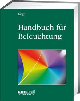 Abbildung von Lange   Handbuch für Beleuchtung   1. Auflage   2020   beck-shop.de