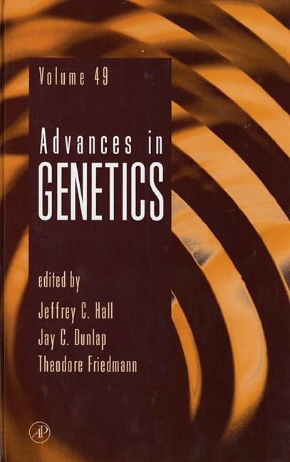 Abbildung von Hall | Advances in Genetics | 2003