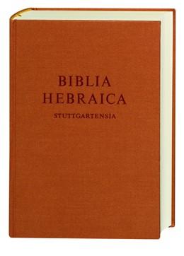 Abbildung von Elliger / Rudolph / Schenker | Biblia Hebraica Stuttgartensia | 5., verb. Aufl. | 1997 | Handausgabe