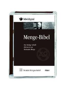 Abbildung von Menge-Bibel   2012   CD-ROM in Super Jewel-Case