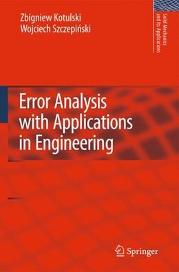 Abbildung von Kotulski / Szczepinski   Error Analysis with Applications in Engineering   2012   169