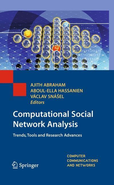 Abbildung von Abraham / Hassanien / Snášel | Computational Social Network Analysis | 2012