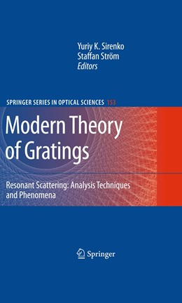 Abbildung von Sirenko / Ström | Modern Theory of Gratings | 2012