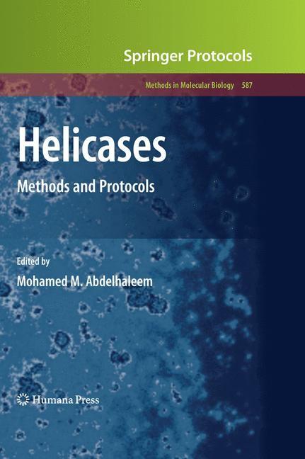 Helicases | Abdelhaleem, 2012 | Buch (Cover)