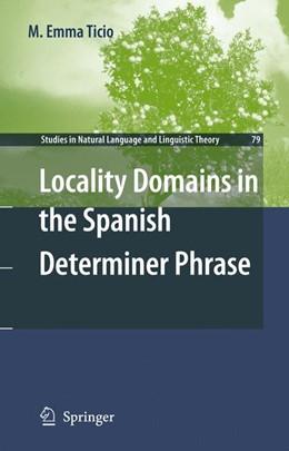 Abbildung von Ticio   Locality Domains in the Spanish Determiner Phrase   2012   79