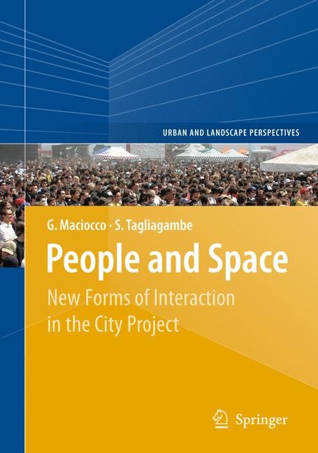 Abbildung von Maciocco / Tagliagambe | People and Space | 2011