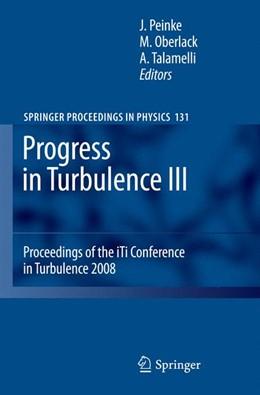 Abbildung von Peinke / Oberlack | Progress in Turbulence III | 2012 | Proceedings of the iTi Confere... | 131