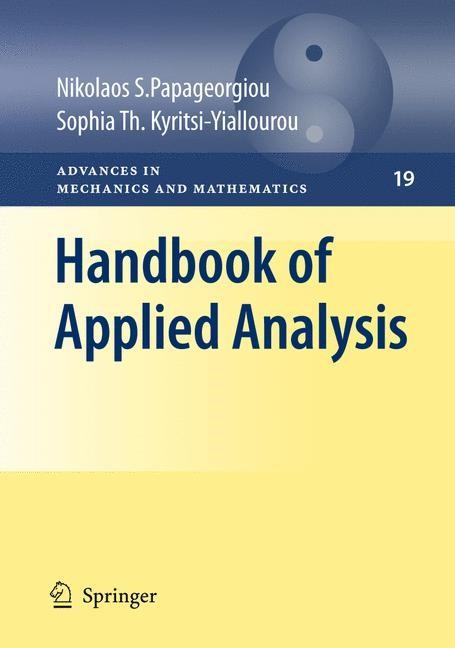 Abbildung von Papageorgiou / Kyritsi-Yiallourou | Handbook of Applied Analysis | 2011