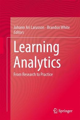 Abbildung von Larusson / White | Learning Analytics | 2014
