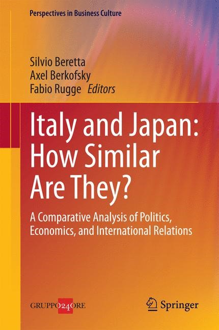 Abbildung von Beretta / Berkofsky / Rugge | Italy and Japan: How Similar Are They? | 2014