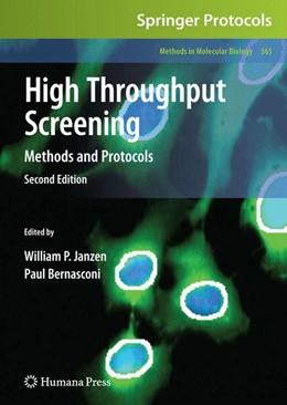Abbildung von Janzen / Bernasconi | High Throughput Screening | 2011 | Methods and Protocols | 565