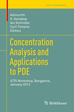 Abbildung von Adimurthi / Sandeep / Schindler / Tintarev | Concentration Analysis and Applications to PDE | 2013 | ICTS Workshop, Bangalore, Janu...