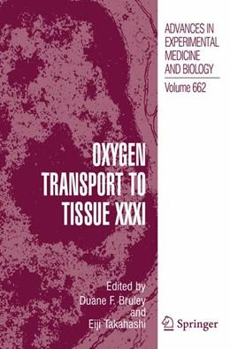 Abbildung von Takahashi / Bruley | Oxygen Transport to Tissue XXXI | 2012 | 662