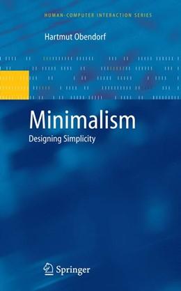 Abbildung von Obendorf | Minimalism | 2011 | Designing Simplicity