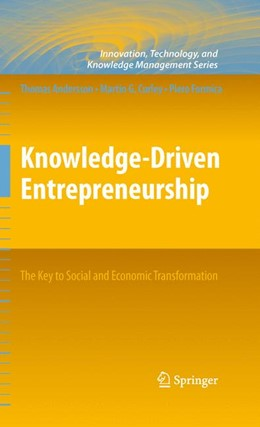 Abbildung von Andersson / Formica / Curley | Knowledge-Driven Entrepreneurship | 2012 | The Key to Social and Economic...