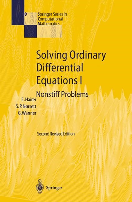 Abbildung von Hairer / Nørsett / Wanner | Solving Ordinary Differential Equations I | 2010