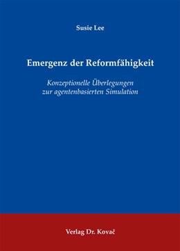 Abbildung von Lee   Emergenz der Reformfähigkeit   2012   Konzeptionelle Überlegungen zu...   176