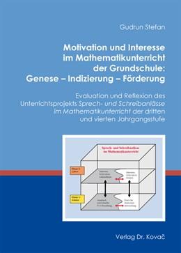 Abbildung von Stefan | Motivation und Interesse im Mathematikunterricht der Grundschule: Genese – Indizierung – Förderung | 2012 | Evaluation und Reflexion des U... | 60