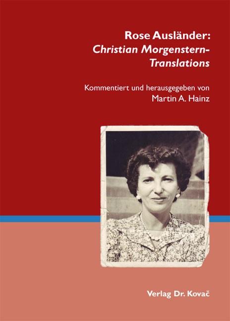 Abbildung von Hainz   Rose Ausländer: Christian Morgenstern-Translations   2012