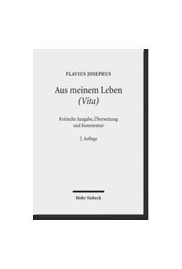Abbildung von Siegert / Vogel / Schreckenberg / | Aus meinem Leben (Vita) | 2., durchges. Aufl. | 2012 | Kritische Ausgabe, Übersetzung...
