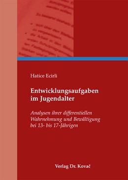 Abbildung von Ecirli   Entwicklungsaufgaben im Jugendalter   2012   Analysen ihrer differentiellen...   29