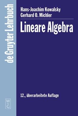 Abbildung von Michler   Lineare Algebra   12. überarbeitete Aufl   2008
