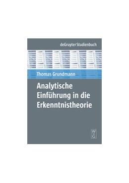 Abbildung von Grundmann   Analytische Einführung in die Erkenntnistheorie   1. Auflage   2008