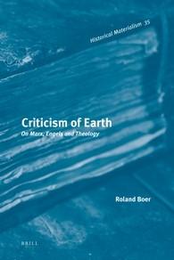 Abbildung von Boer | Criticism of Earth | 2012