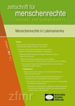 Abbildung von Debus / Kreide   Menschenrechte und Lateinamerika   1. Auflage   2011   beck-shop.de