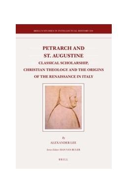 Abbildung von Lee | Petrarch and St. Augustine | 2012 | Classical Scholarship, Christi... | 210