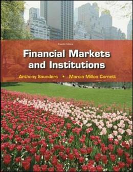 Abbildung von Saunders / Cornett | Financial Markets and Institutions | 2008
