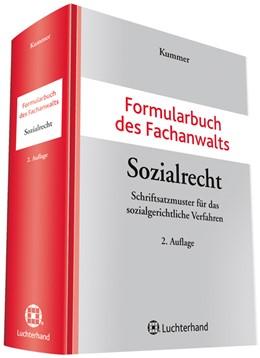 Abbildung von Kummer | Formularbuch des Fachanwalts Sozialrecht | 2. Auflage | 2016 | Schriftsatzmuster für das sozi...