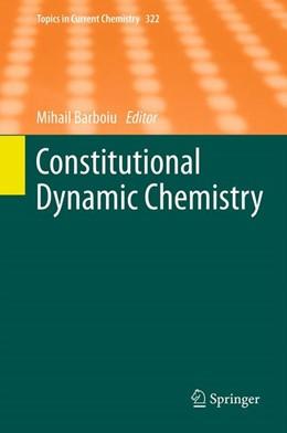 Abbildung von Barboiu | Constitutional Dynamic Chemistry | 2012 | 322