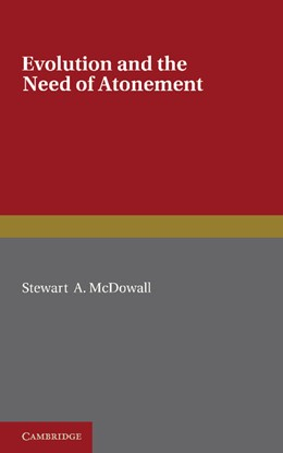 Abbildung von McDowall | Evolution and the Need of Atonement | 2012