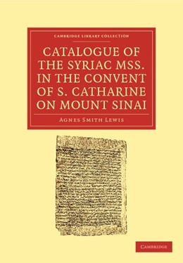 Abbildung von Catalogue of the Syriac MSS. in the Convent of S. Catharine on Mount Sinai | 2012