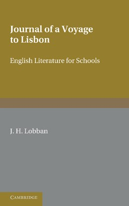Abbildung von Lobban | Fielding: Journal of a Voyage to Lisbon | 2012