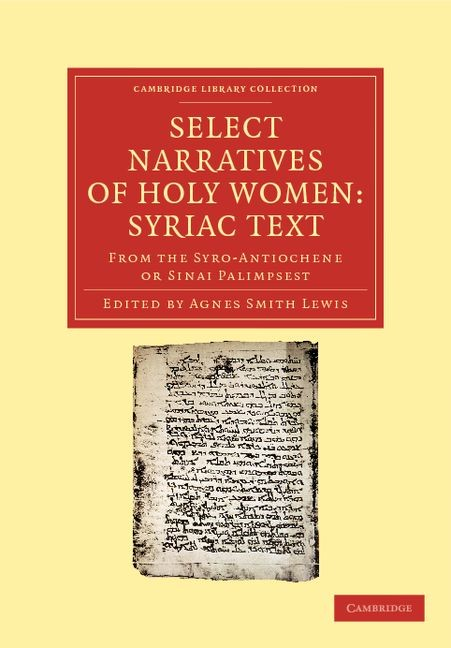 Abbildung von Lewis | Select Narratives of Holy Women: Syriac Text | 2012