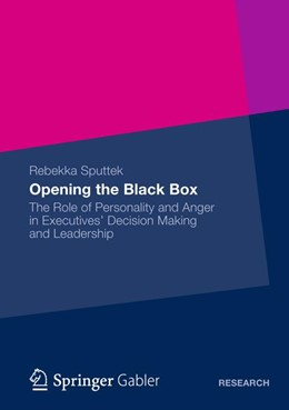 Abbildung von Sputtek | Opening the Black Box | 2012 | The Role of Personality and An...