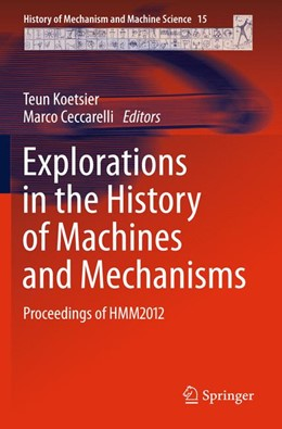Abbildung von Koetsier / Ceccarelli | Explorations in the History of Machines and Mechanisms | 2012 | Proceedings of HMM2012 | 15