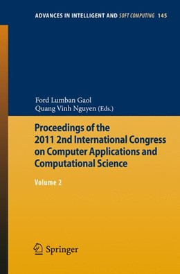 Abbildung von Gaol / Nguyen | Proceedings of the 2011 2nd International Congress on Computer Applications and Computational Science | 2012 | Volume 2 | 145