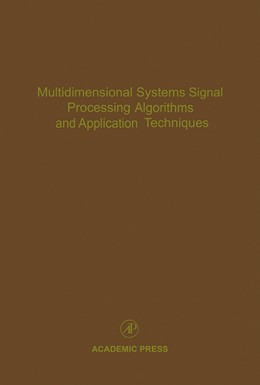 Abbildung von Multidimensional Systems Signal Processing Algorithms and Application Techniques | 1996 | Advances in Theory and Applica... | 77