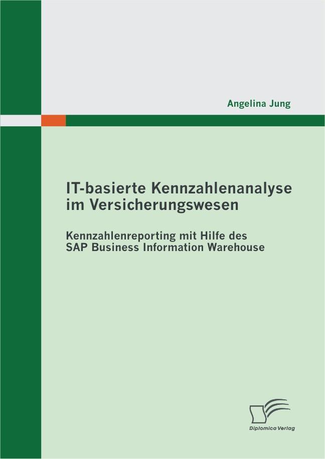 Abbildung von Jung | IT-basierte Kennzahlenanalyse im Versicherungswesen: Kennzahlenreporting mit Hilfe des SAP Business Information Warehouse | 2012