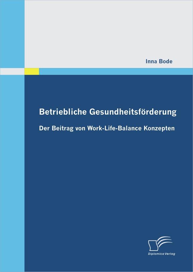 Abbildung von Bode | Betriebliche Gesundheitsförderung | 2012