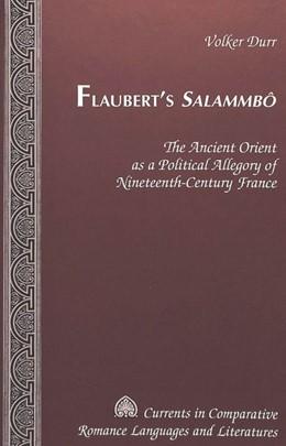 Abbildung von Durr | Flaubert's Salammbô | 2002 | The Ancient Orient as a Politi... | 107