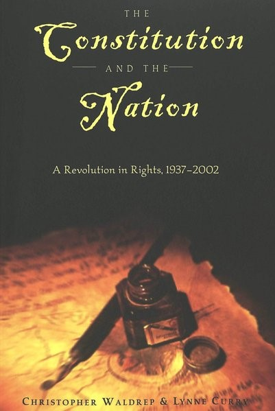 Abbildung von Curry / Waldrep | The Constitution and the Nation | 2003