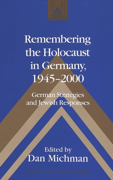 Abbildung von Michman | Remembering the Holocaust in Germany, 1945-2000 | 2002