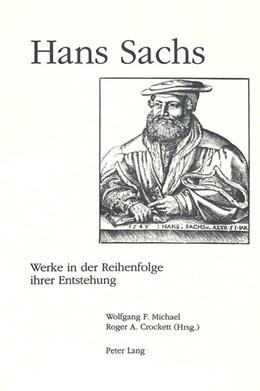 Abbildung von Sachs | Werke in der Reihenfolge ihrer Entstehung | 1996 | Band 1: Von den Anfängen bis 1...